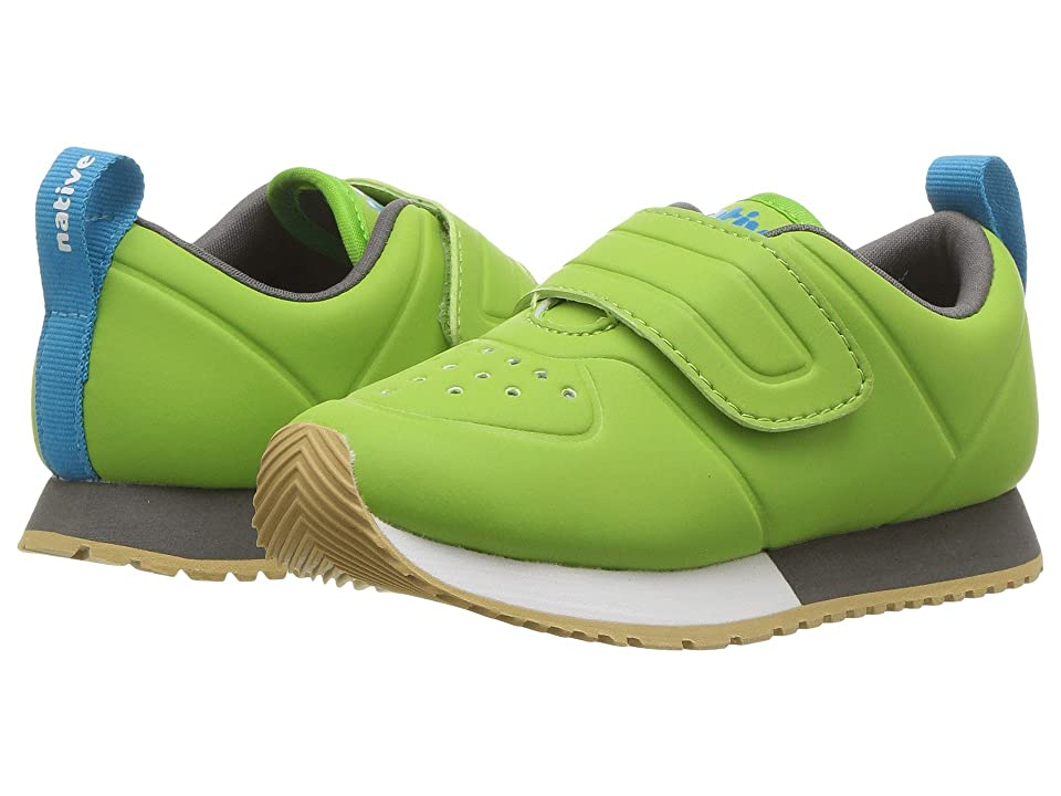 Native Kids Shoes Cornell HL CT (Toddler/Little Kid) (Spring Green CT/Shell White/Dublin Grey/Gum Rubber) Kids Shoes
