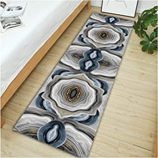 3D Runner Rug for Hallway,Very Long Entryway Carpet,Absorbent Durable Entrance Mat for Aisle Porch Staircase,Non Slip Wash...