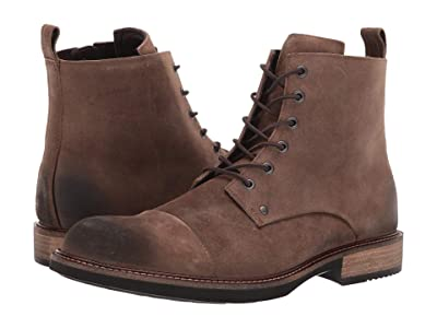 ECCO Kenton Artisan Lace Boot (Cocoa Brown) Men
