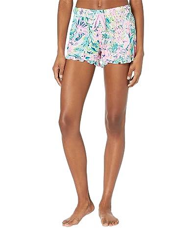 Lilly Pulitzer Ruffle PJ Knit Shorts