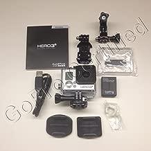 GoPro HERO3+: Silver Edition (Waterproof, Built-in WiFi, 10.0 MP photo, 1080P video)(Renewed)