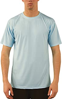 Vapor Apparel Men's UPF 50+ UV Sun Protection Performance Short Sleeve T-Shirt