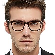 352c3c058de OCCI CHIARI Optical Eyewear Non-prescription Fashion Glasses Eyeglasses  Frame with Clear Lenses for Men