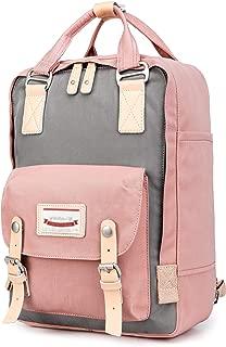Goldwheat Backpack Water-resistant School Laptop Bag for Women Girls Bookbag