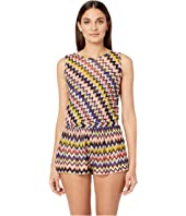Missoni Mare - Iconic Zigzag Jumpsuit Cover-Up