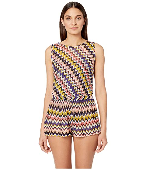Missoni Mare Iconic Zigzag Jumpsuit Cover-Up