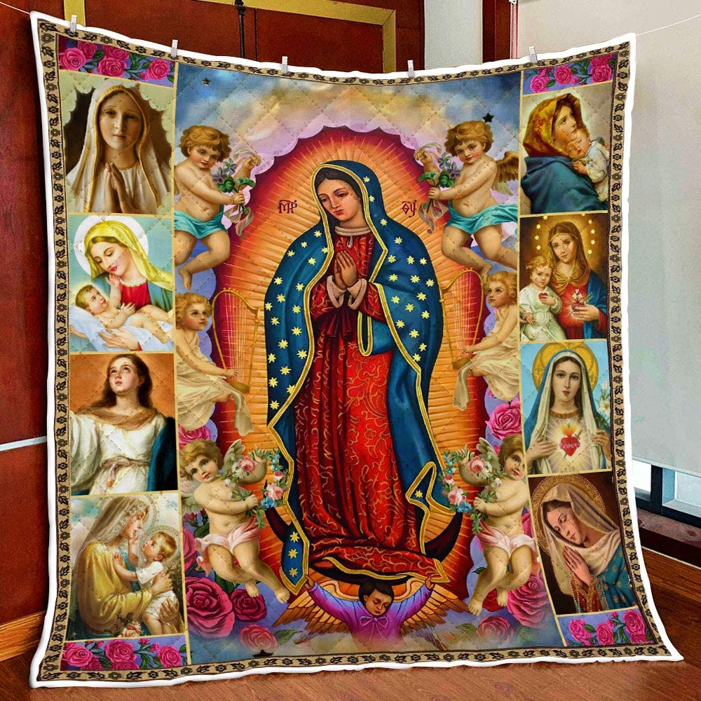 iWow Meaningful Quote Our Lady Kansas City Mall of Blanket Quilt Bir Guadalupe Selling and selling On