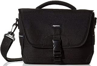 AmazonBasics Medium DSLR Camera Gadget Bag – 12 x 5 x 8 Inches, Black and Orange