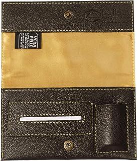 Pellein - Portatabacco in vera pelle Storm - Astuccio porta tabacco, porta filtri, porta cartine e porta accendino. Handma...