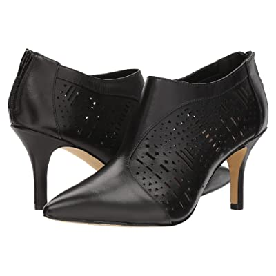 Bella-Vita Darlene (Black Leather) Women