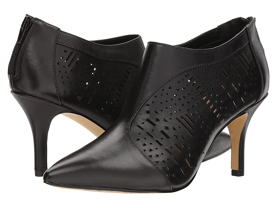 Bella-Vita Darlene (Black Leather) Women