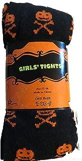 Girls Tights Black Skull & Cross Bones size 4-6, 36-54 lbs, 38-47