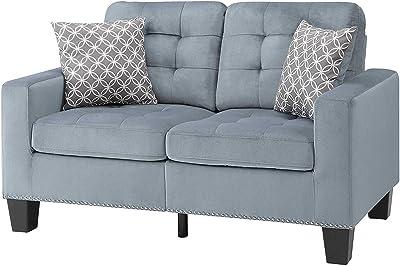 Amazon.com: Simmons Upholstery 9025-04Q Mia - Sofá para ...