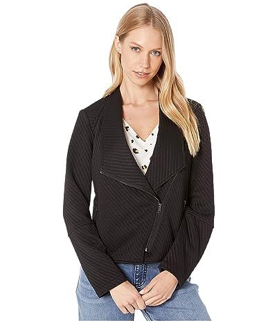 BB Dakota Place To Be Softshell Jacket (Black) Women