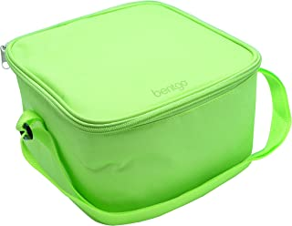 Bentgo Bag (Green) - Insulated Lunch Bag Keeps Food Cold On the Go - Fits the Bentgo Classic Lunch Box, Bentgo Cup, Bentgo Sauce Dippers and an Ice Pack - Also Works For Other Food Storage Containers