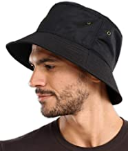 Bucket Sun Hat for Men & Women - UPF 50 UV Protection Packable Summer Fisherman Cap for Fishing, Safari, Beach & Boating