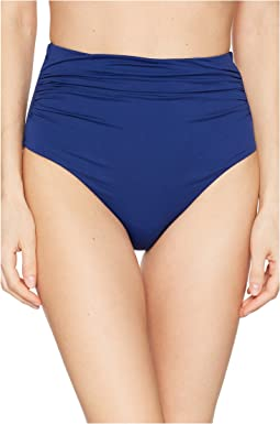 eeb016ce0 Indigo. 86. LAUREN Ralph Lauren. Beach Club Solids High-Waist Bottom