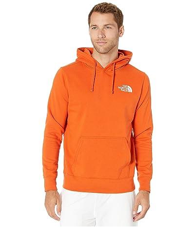 The North Face Red Box Pullover Hoodie (Papaya Orange) Men
