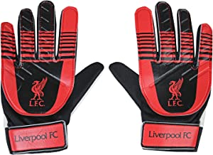 Liverpool FC Official Football Gift Kids Youths Goalkeeper Goalie Gloves