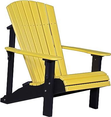 Amazon.com: luxcraft plástico reciclado silla plegable de ...
