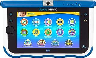 VTech Storio MAX 7 Multifunctional Gadget - electrónica para niños (Multifunctional Gadget, MicroSD (TransFlash), Botones, Sensor, Negro, Azul, Color Blanco, Polímero de Litio, Niño/niña)
