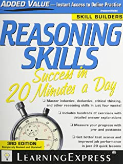 Reasoning Skills Success in 20 Minutes a Day
