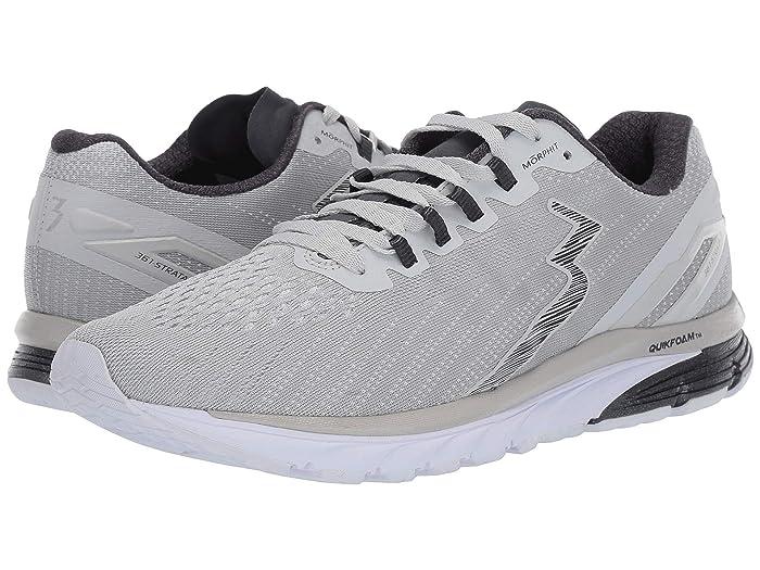 361 Degrees  Strata 3 (Oyster Mushroom/Ebony) Mens Shoes