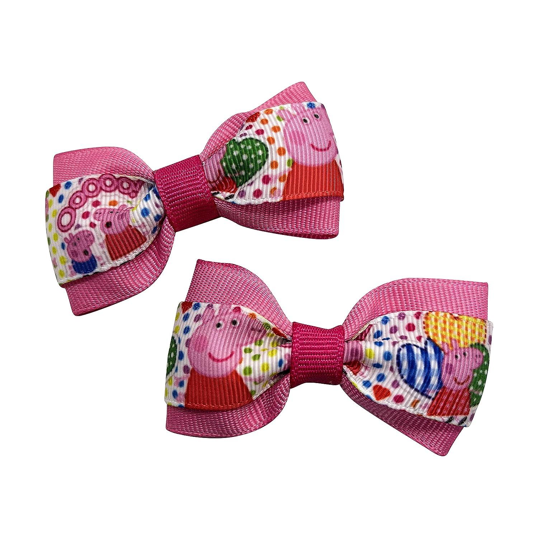 Little Girl Fashion Pig Girls Hair Bows Bow Set Pigtail Ha SALENEW very popular!