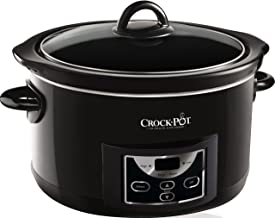 Crock-Pot SCCPRC507B-060 Crockpot Olla de cocción Lenta Digital de 4,7L SCCPRC507B, 230 W, 4.7 litros, Acero Inoxidable
