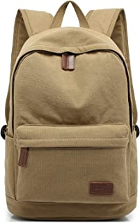 KAYOND Casual Style Lightweight canvas Laptop Bag/Durable Travel backpacks/Rucksack for Men&Women/