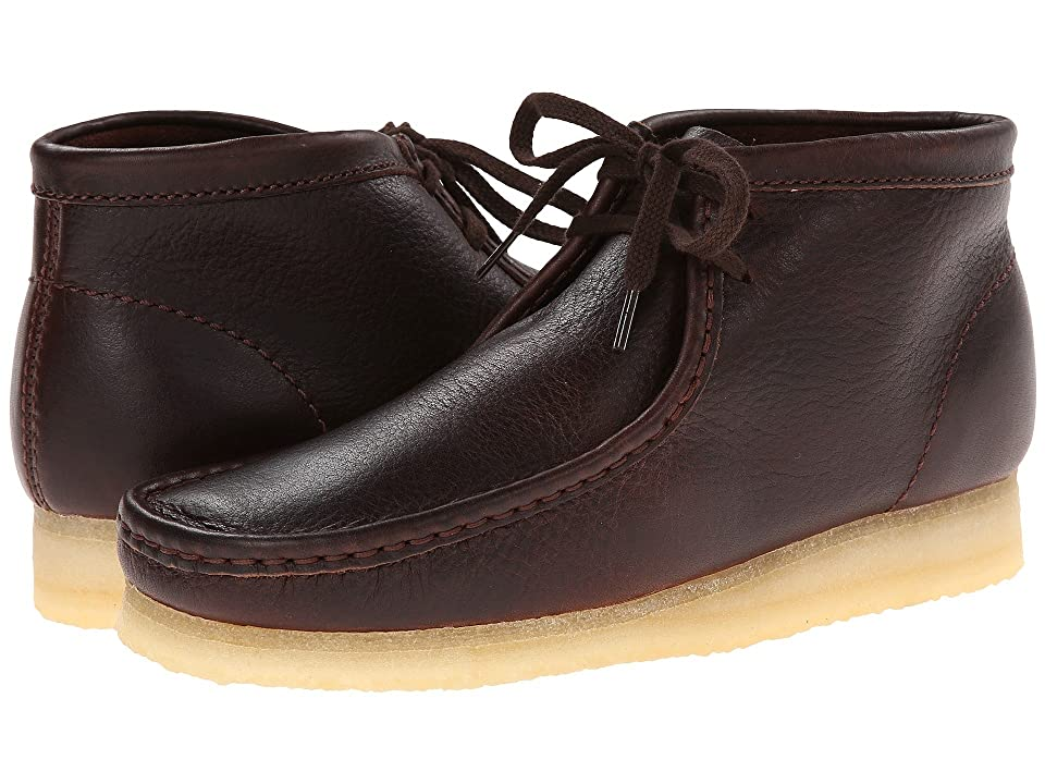 Clarks Wallabee Boot (Brown Tumbled Leather) Men