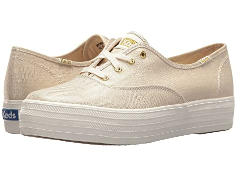 ed27c2cc54dd Keds Triple Metallic Linen at 6pm
