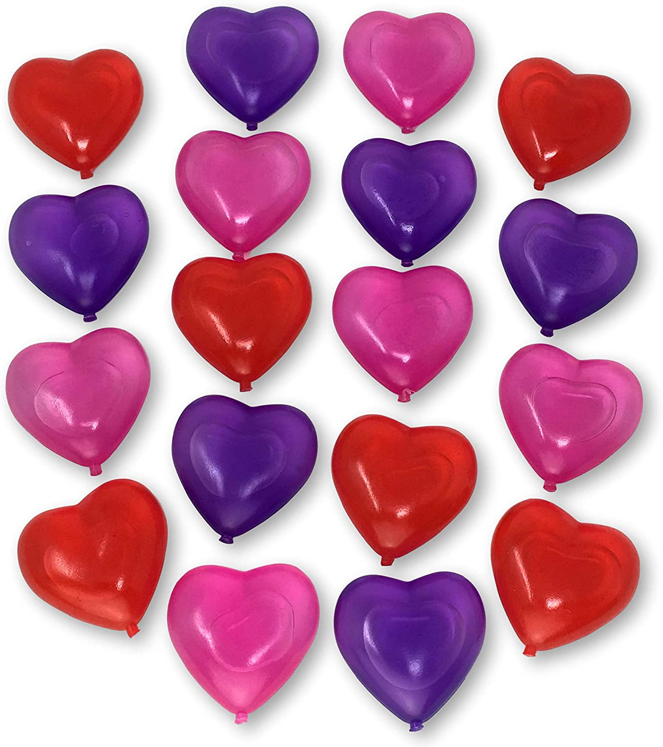 Reusable Ice Cubes   Heart Shapes   Pink Purple Red   Colored Ice ...