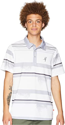 Frondtastic Short Sleeve Polo