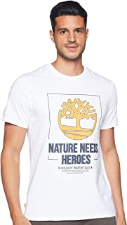 Timberland mens NNH Front Graphic Tee T-Shirt