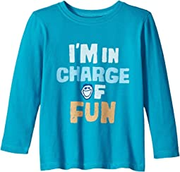 Life is Good Kids - I'm In Charge Of Fun Long Sleeve Crusher Tee (Toddler)