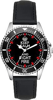 Fire Brigade Gift Article Idea Fan Watch L-2616