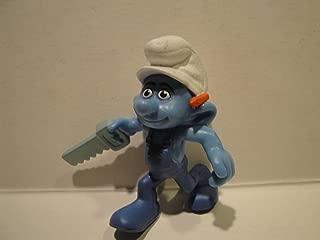 2011 McDonalds SMURF Toy #3 Handy Smurf