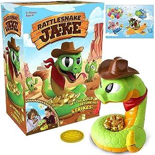 color aleatorio TOYMYTOY Serpiente de juguete emergente patata juguete divertido