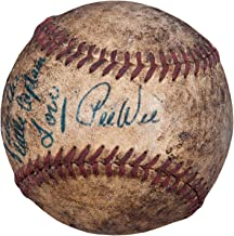 1950's Pee Wee Reese Signed Game Used Baseball Inscribed