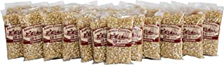Amish Country Popcorn - Medium White Kernels 4 Ounce Bags (24 Pack) - Old Fashioned, Non GMO, and Gluten Free - with Recipe Guide