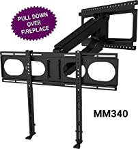 alternatives to mounting tv over fireplace