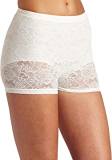 Flexees Women's Fat Free Collection All Lace Boyshort