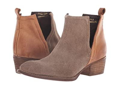 Diba True Stop By (Dust/Cognac Suede/Leather) Women