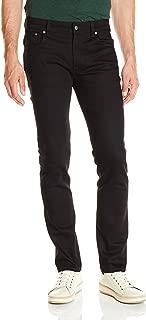Nudie Jeans Men's Thin Finn Jean in Dry Cold Black