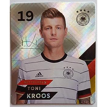 Jonas Hector Glitzer Zusatzbonus 1 toysagent Sonderkarte Rewe EM 2020 DFB Sammelkarten Nr 11