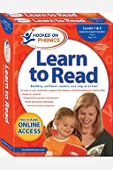 Hooked on Phonics Learn to Read - Levels 1&2 Complete: Early Emergent Readers (Pre-K | Ages 3-4) (1) (Learn to Read Complete Sets) Paperback