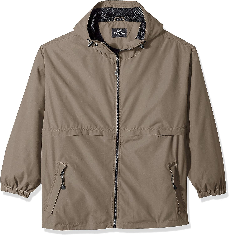 Clementine Mens Ultc8908microfiber Hooded ZipFront Jacket Sweatshirt