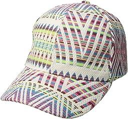 Rainbow Woven Baseball Hat