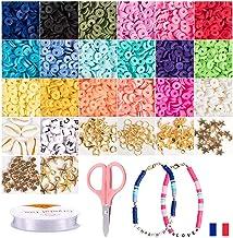 Polymeerklei voor het maken van kindersieraden, afstandsparels, Heishi-parels, knutselparels, volwassenen en kinderen. + 4...